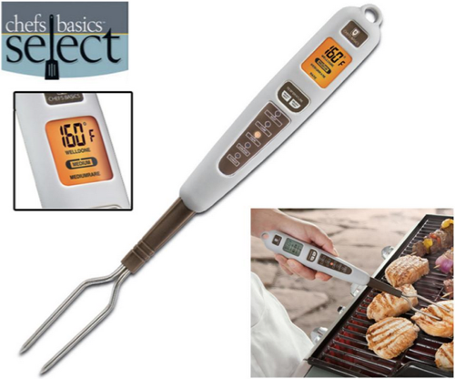 Chefs Basics Select Digital Fork Thermometer with Backlit LCD Display Weekly Deals: Halter Jumpsuit, $95 Android Tablet, PC Software & More