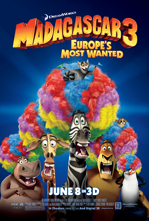 Madagascar3 Poster Animation Info Madagascar 3  Movie Review