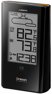 Oregon Scientific EW93 Weather Station with Atomic Click and Ice Alert