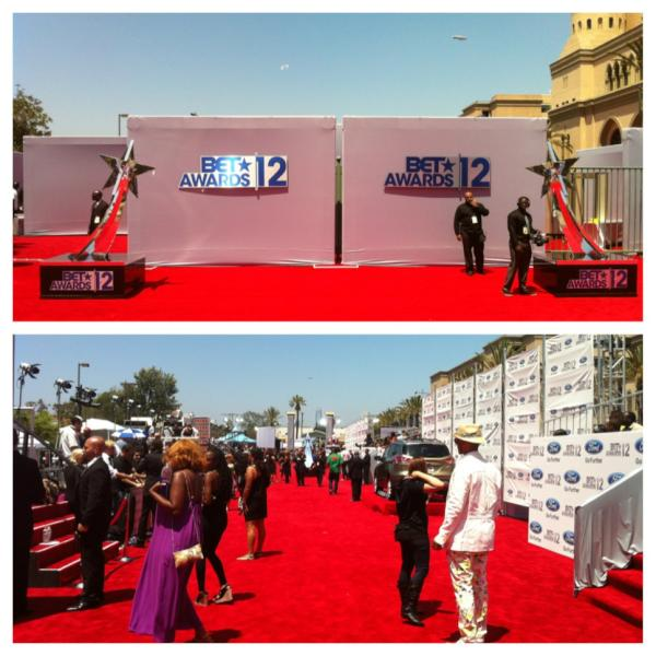 The 2012 @BETAWARDS & Behind The Curtain Live Stream, Tell Us Who You LOVE On The Red Carpet #BETAwards
