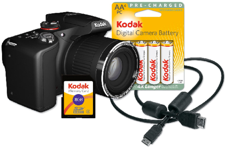 Kodak EasyShare 12.0 MP Digital Camera with 30x Optical Zoom Weekly Deals: Kodak EasyShare Camera, HTC Smartphone, Diamond Bangle &amp; More