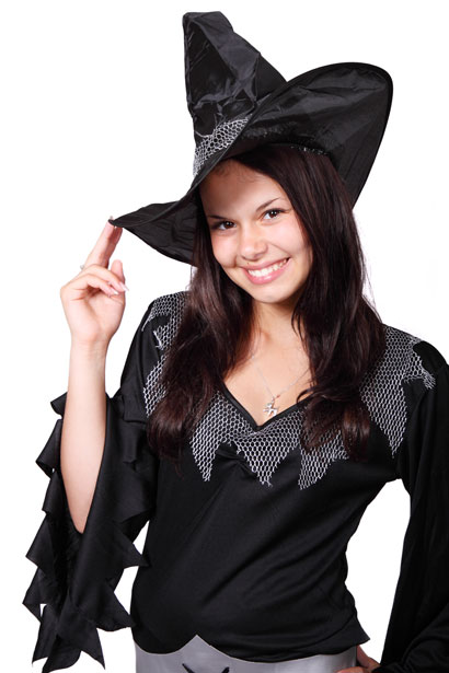 witch Having Fun After 25 With Fashionable Costumes