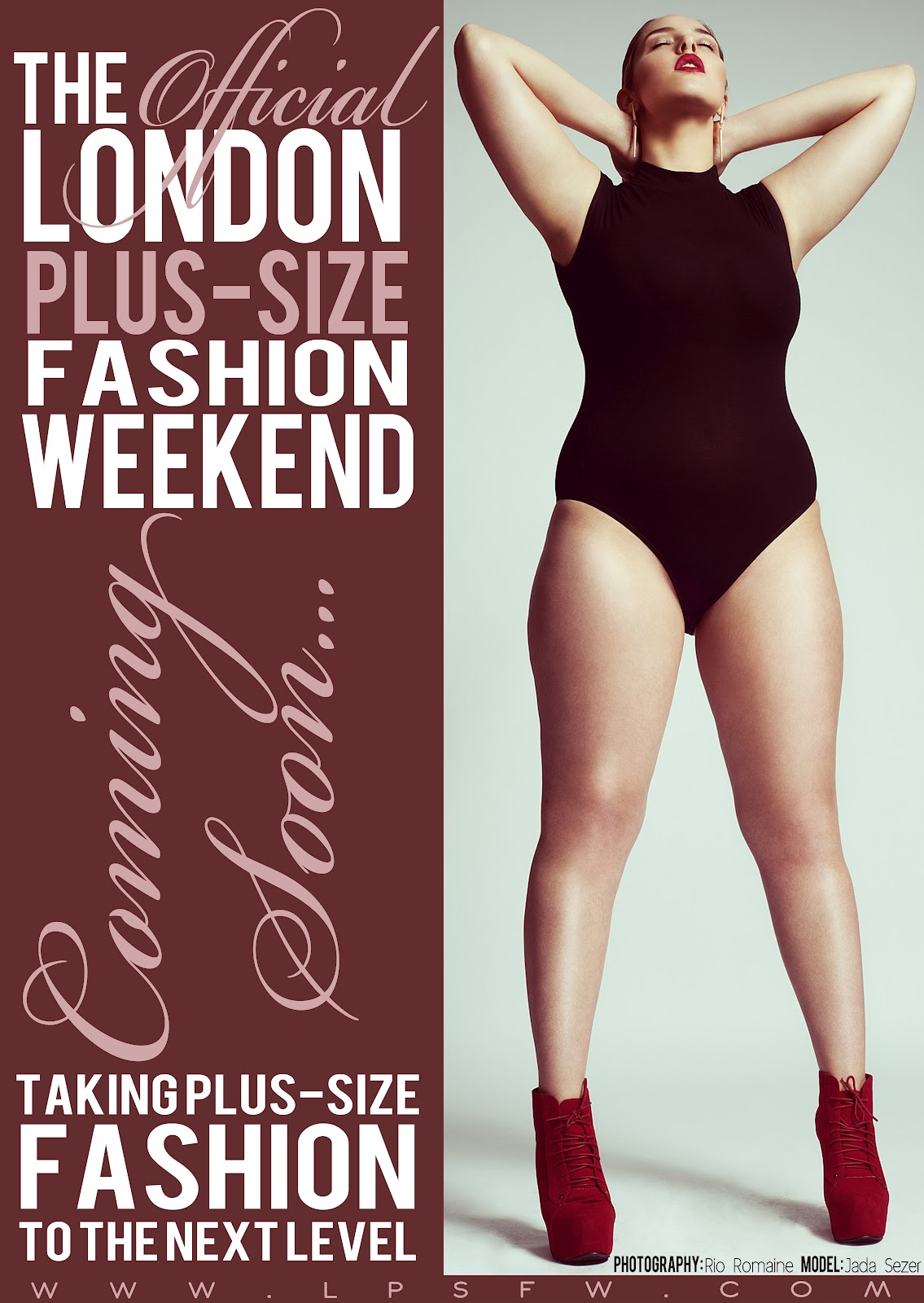 Big is Beautiful London to Welcome Plus Size Fashion Weekend in 2013 Big is Beautiful   London to Welcome Plus Size #Fashion Weekend in 2013