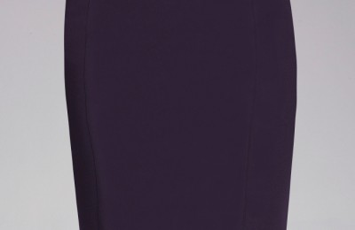 Bebe Zipper Pencil Skirt