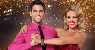 Brant Daughtery  dancing with Peta Murgatroyd