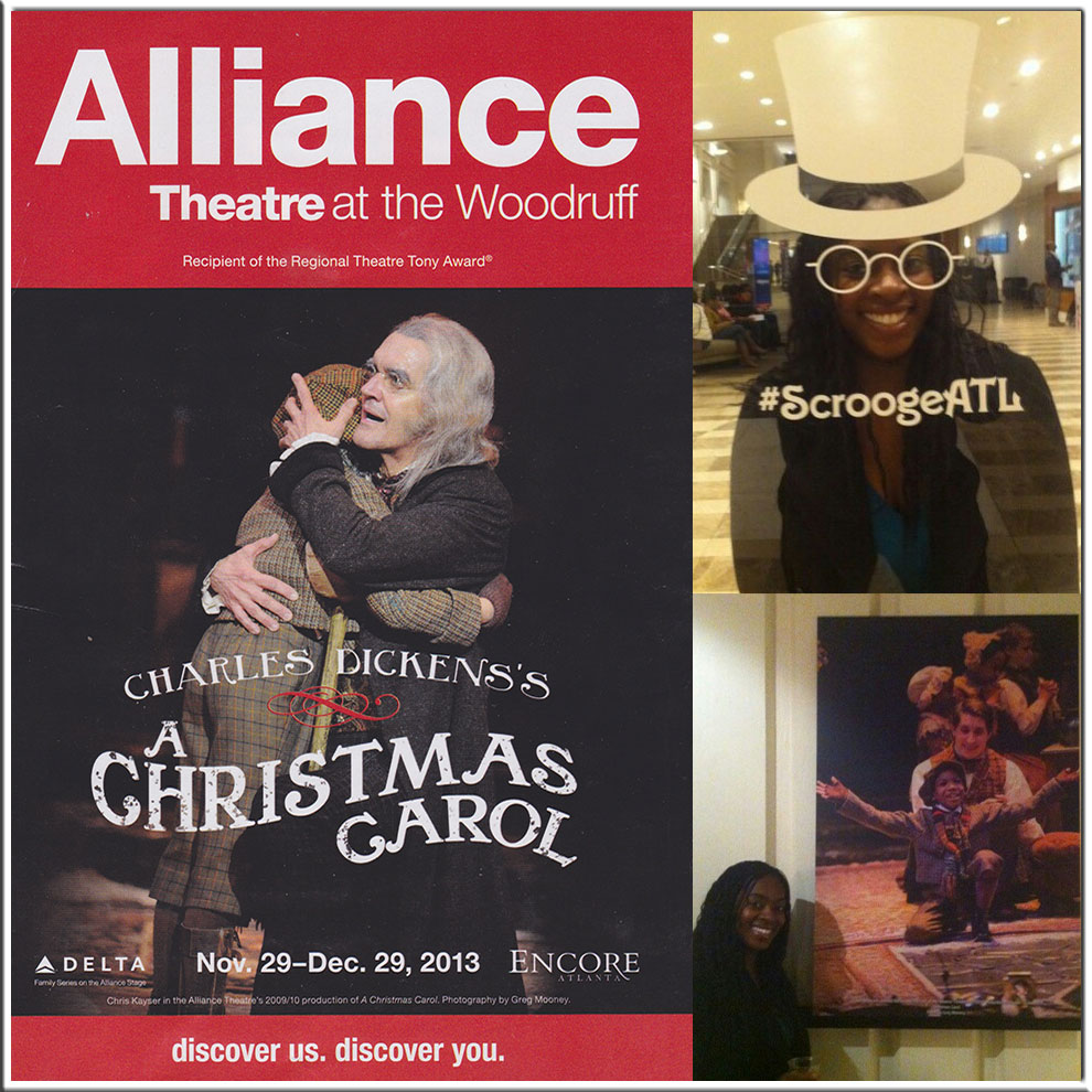 a christmas carol review by da vinci scroogeatl atlanta
