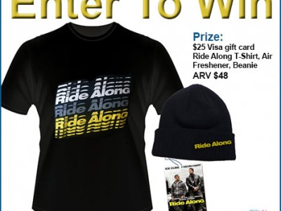 Enter To Win A Ride Along Movie Prize Pack!