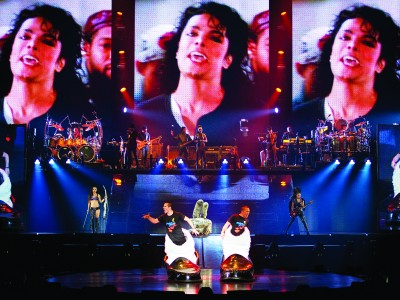Beat It Cirque du Soleil Michael Jackson Tour