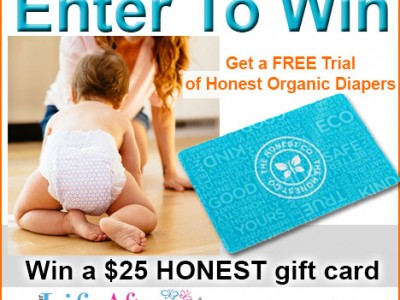 Honest Organic Diapers gift card