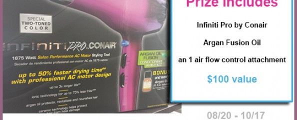 Conair Infinit Pro giveaway