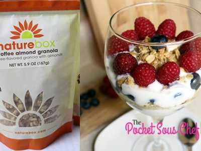 NatureBox Toffee Almond Granola