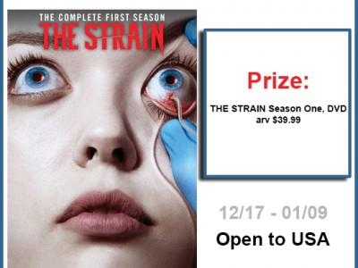 The Strain Season One DVD Giveaway