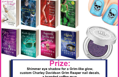 Win Charley Davidson Series: THINGS ARE LOOKING GRIM Prize Pack Giveaway!