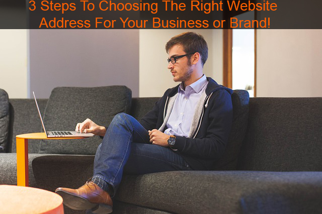 3 Steps To Choosing The Right Website Address For Your Business or Brand