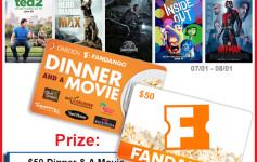 Enter To Win: Your Life After 25's Summer Dinner & A Movie Fandango Gift Card Giveaway!