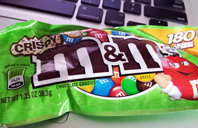 M&M'S® Crispy is BACK! Get Your Chocolate Fix For Under 200 Calories!