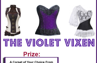 8 Overbust Corsets for Every Day Wear: Win A Violet Vixen Corset #Giveaway!