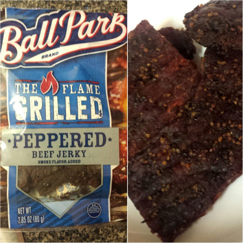 Game Day Snack Time: Flame Grilled Tough and Tender Jerky The Ball Park Way!