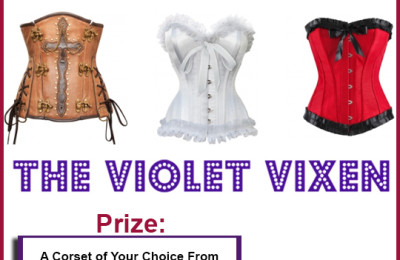 5 Corsets For Halloween and Every Day Wear: Win Our Violet Vixen Holiday Corset Giveaway