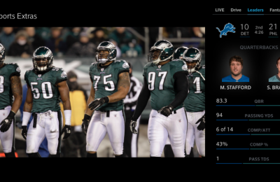 Football, Food And Family: How Xfinity's Sports App Is The Perfect Compliment For Games!