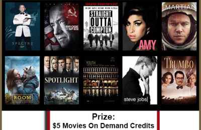 Be Ready For The Oscars With Movies On Demand!
