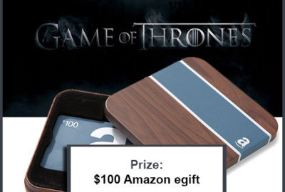 Enter To Win: Game of Thrones Fan Giveaway!