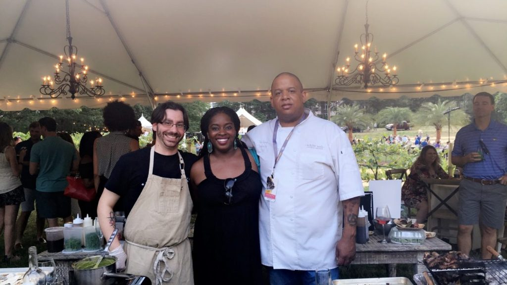 Experiencing The Atlanta Food & Wine Festival With Lexus in Vineyard In The City!