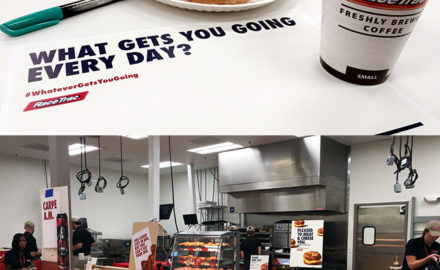 A Trip To The RaceTrac Test Kitchen: Food, Coffee and Whatever Gets You Going!