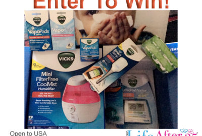 Be Ready For Any Cold or Flu with Your Vicks Winter Wellness Care Kit! + giveaway