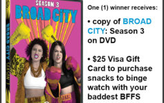 Enter To Win: Broad City Season 3 DVD Prize Pack Giveaway!