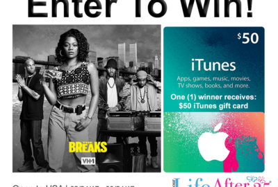 Enter To Win: THE BREAKS $50 iTunes Gift Card Giveaway!