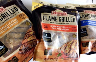 Meal Prep Just Got Easier With Johnsonville Flame Grilled Chicken!