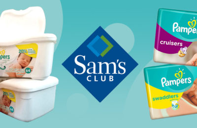 Save on Pampers at Sam's Club