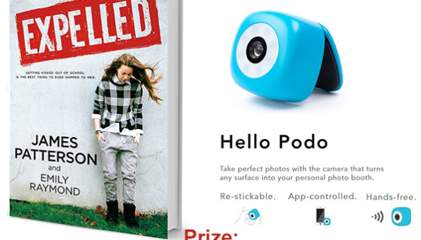 Enter To Win: Expelled + Podo Hands-Free Camera Prize Pack Giveaway!