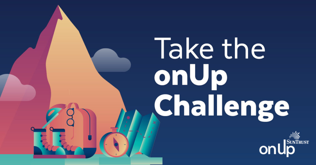 Reach Financial Confidence and Freedom in 2018: Take The onUp Challenge!