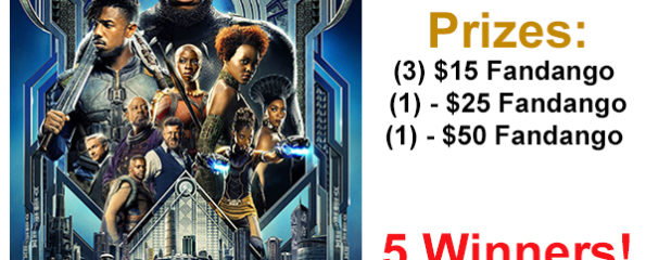 Black History In The Making: Enter To Win Your Life After 25's Black Panther Fans Fandango Prize Pack Giveaway!