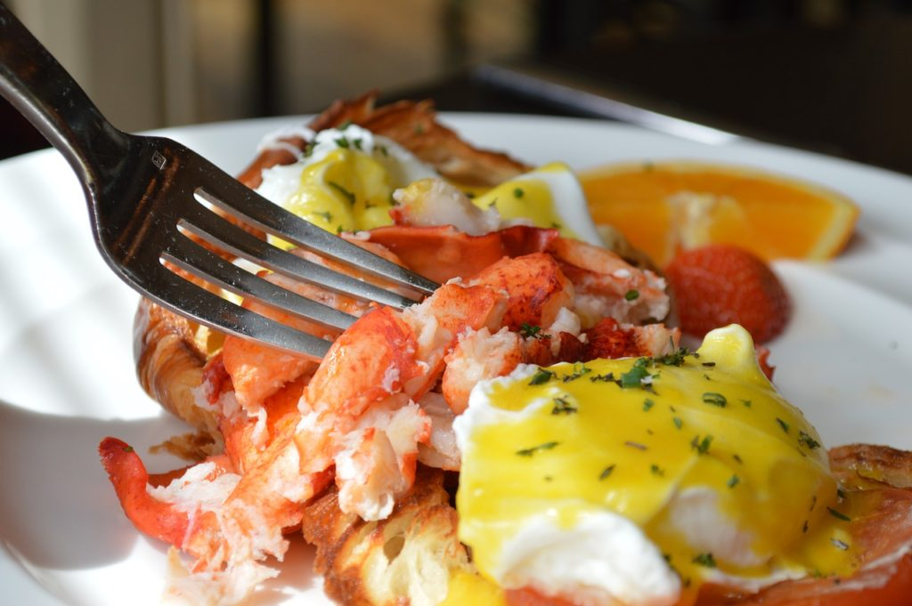 A Lobster Breakfast Is A Terrific Way To Start The Day
