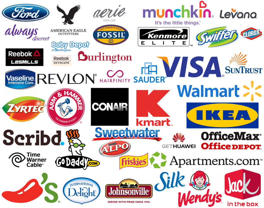 Brands Your Life After 25 Has Worked With