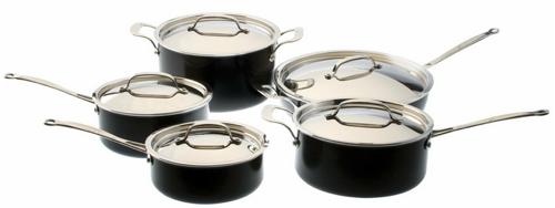 BergHOFF Earthchef Acadian 10-Piece Cookware Set