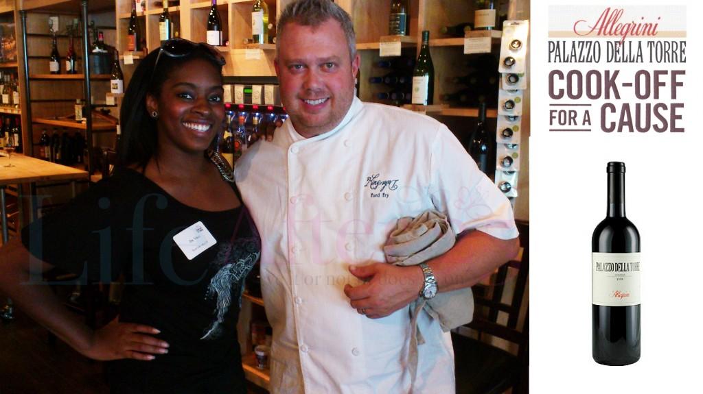 Da-Vinci & Chef Ford Fry owner of JCT Kitchen restaurant in Atlanta