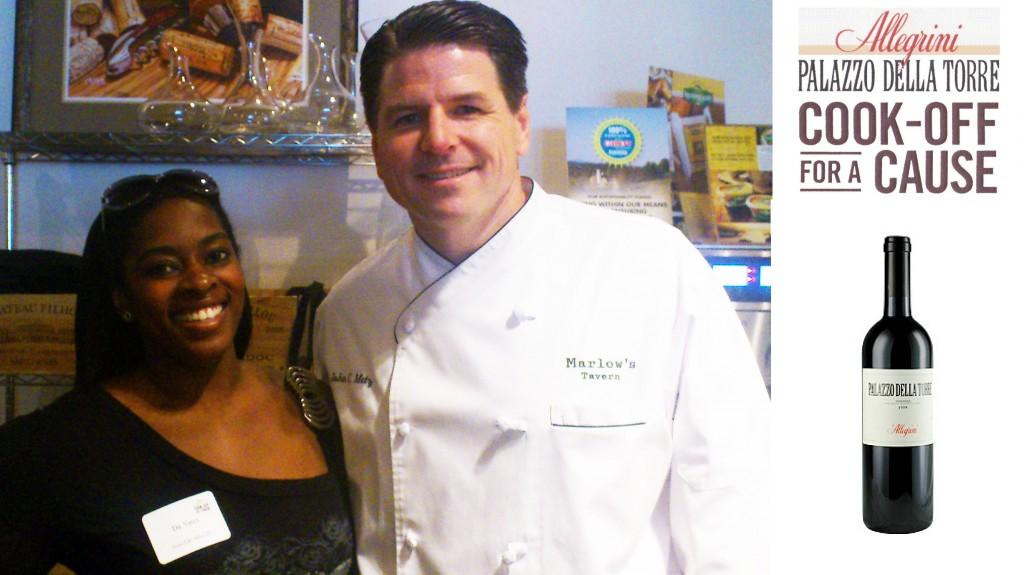Da-Vinci-&-Chef-John-Metz owner of Marlow's Tavern Restaurant In Atlanta Cooking