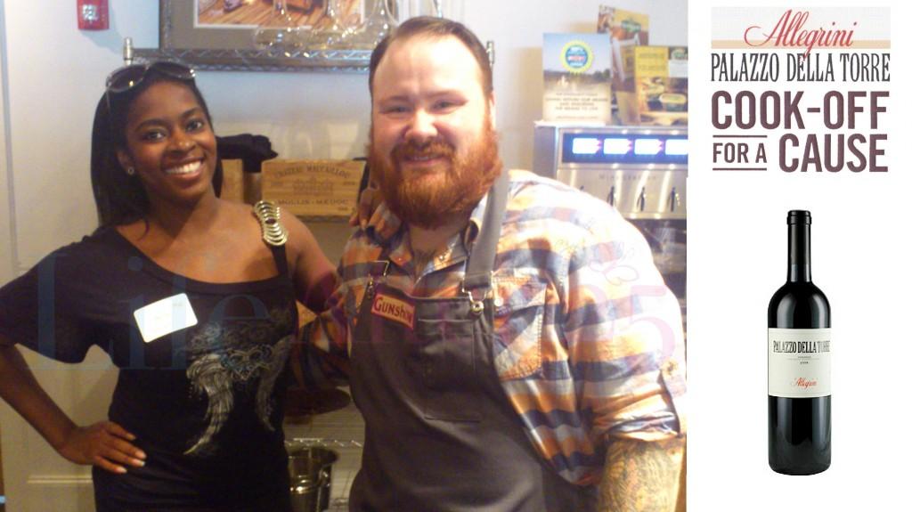 Da Vinci & Chef Kevin Gillespie owner of Gunshow Restaurant in Atlanta cooking