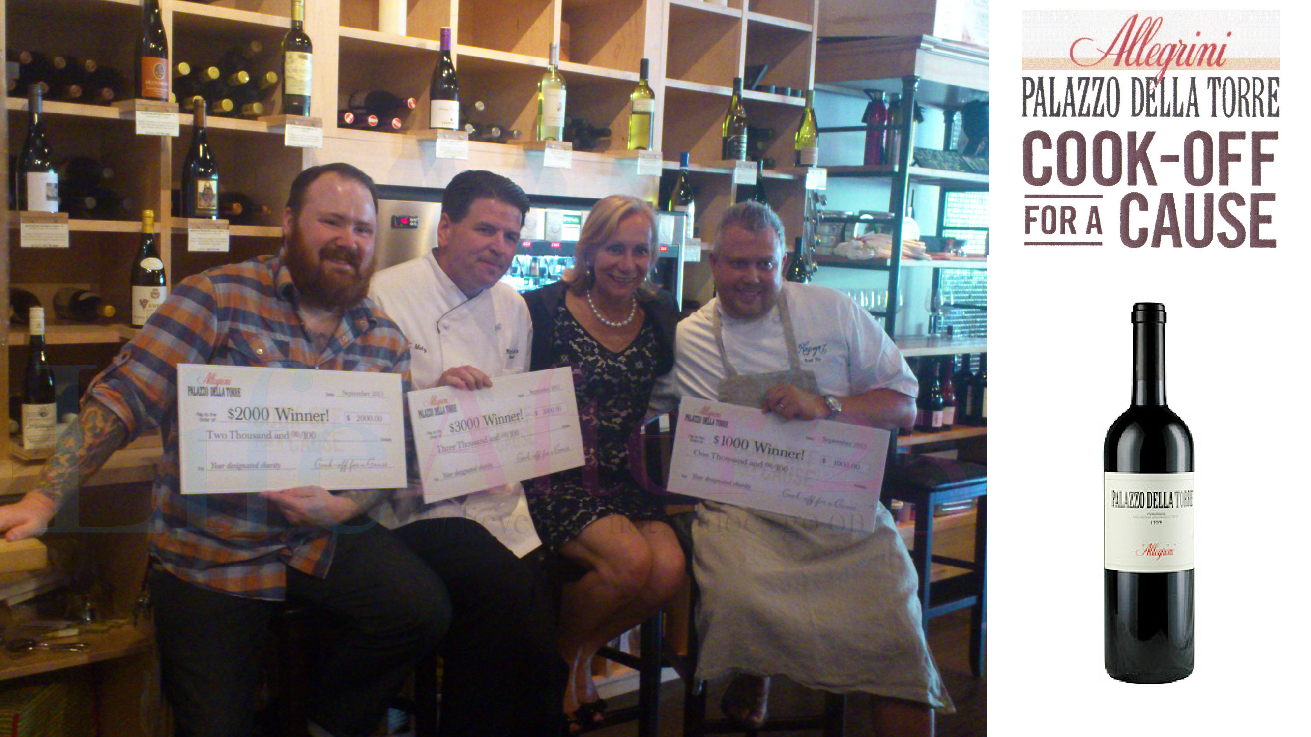 Marilisa-Allegrini-and-the-Chefs-of-Cook-Off-For-A-Cause Palazzo Della Torre Wine Cooking for Charity