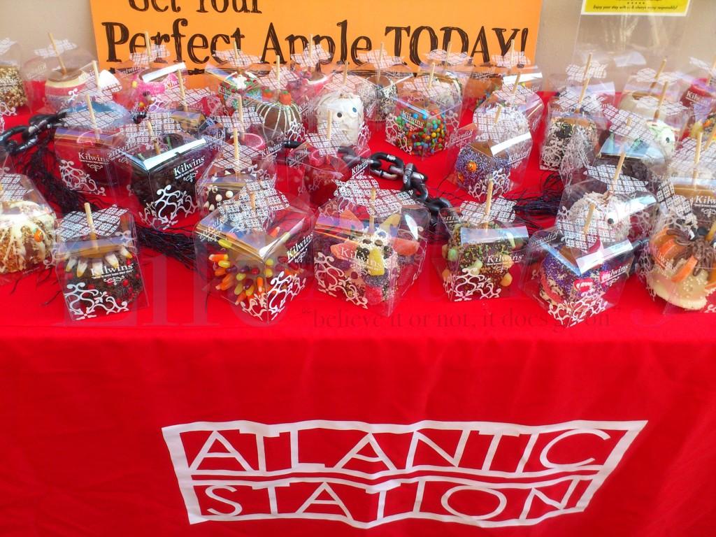 Candy Apples, Kilwins, Halloween