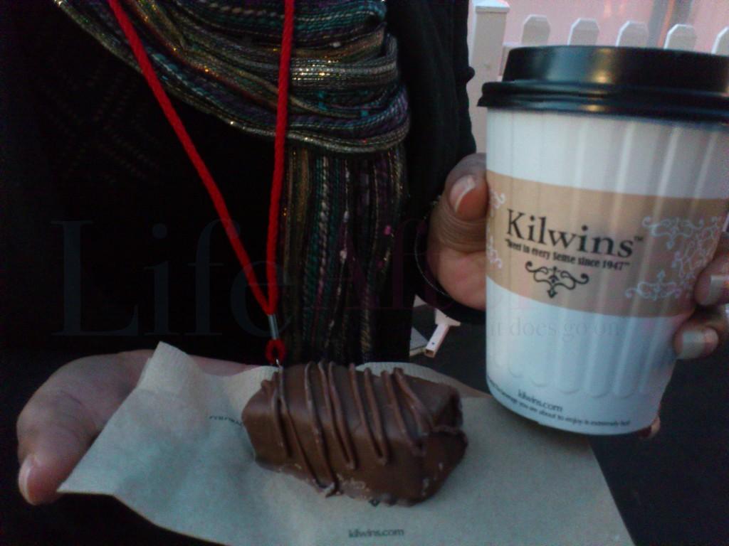 Kilwins hot chocolate smores holidays