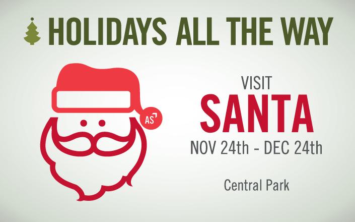 Santa at Atlantic Station