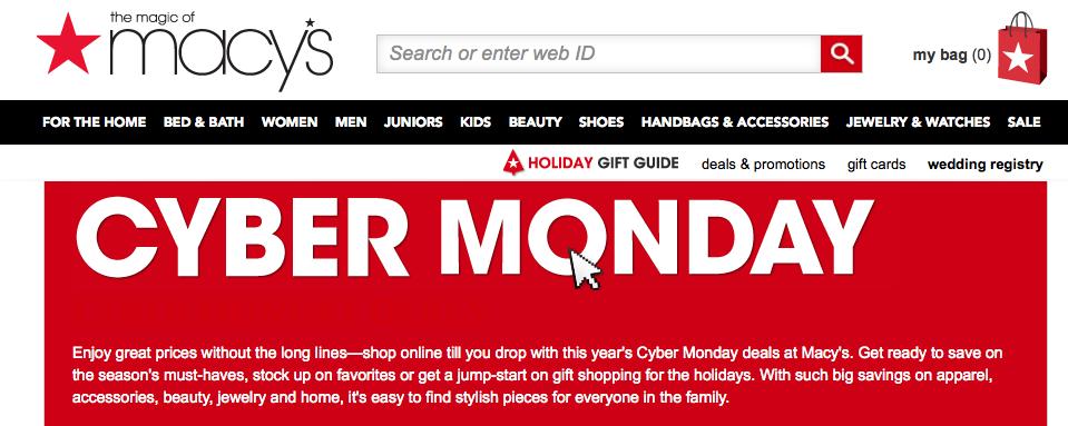 Cyber Monday deals Black Friday sales