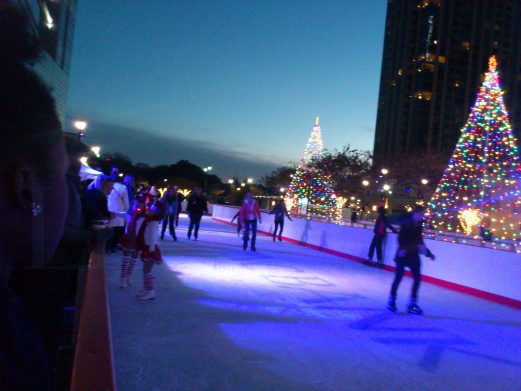 Ice Skating in Atlanta Atlantic Station