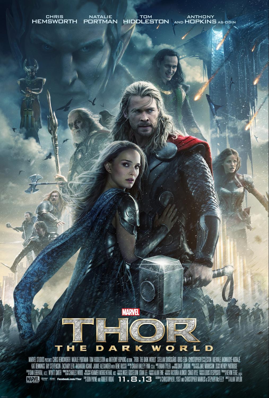 Thor: The Dark World Marvel Iron Man Hulk Disney Captain America