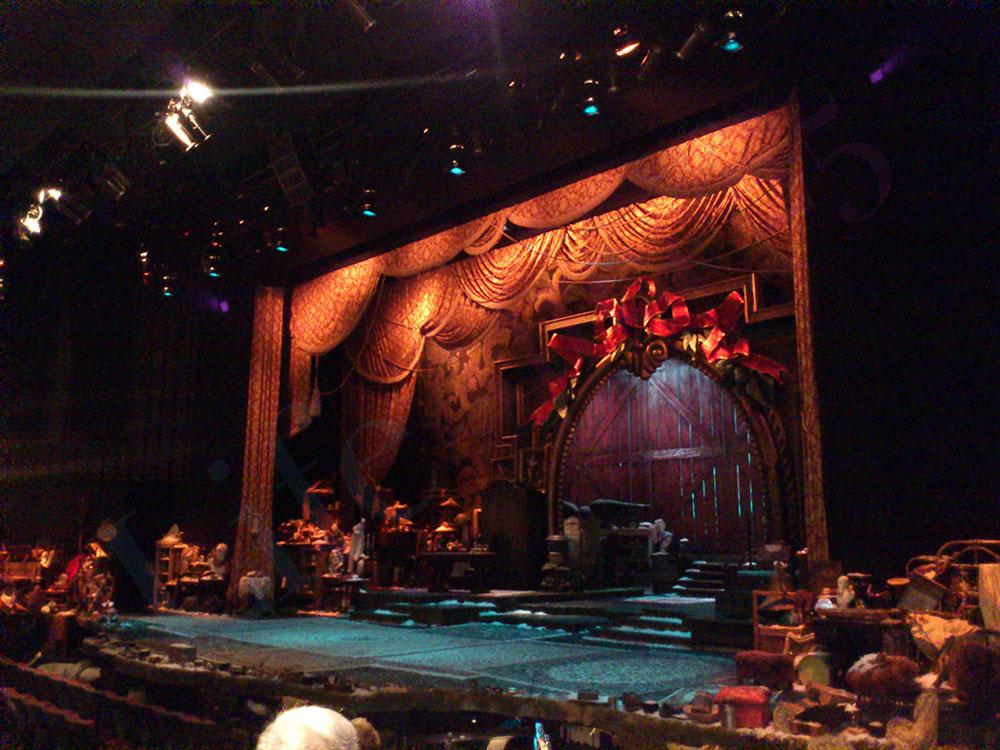 A Christmas Carol stage
